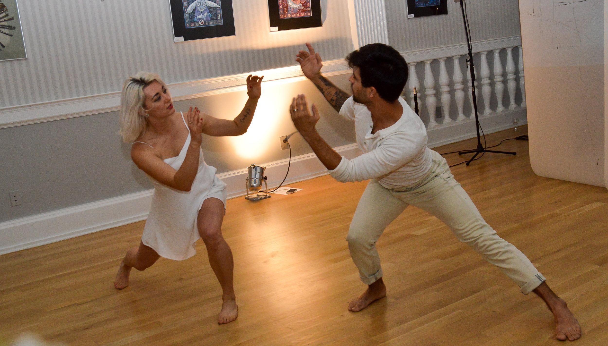 Diina Tamm & James Koroni - Performance 3