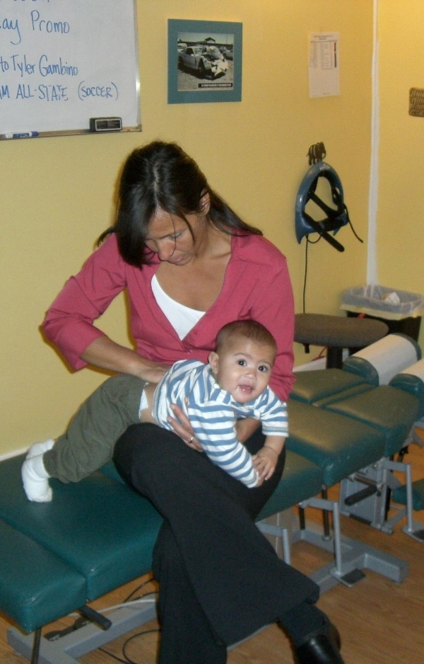 Babies love getting adjusted!!