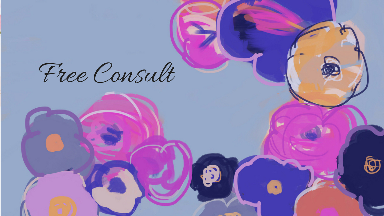 Set Up a Free Consult - I'd love to chat with you to answer any questions you have about the therapy process.