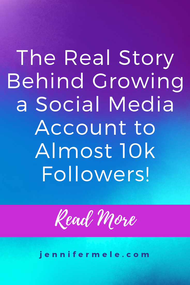 The real story behind growing a social media account to almost 10,000 followers
