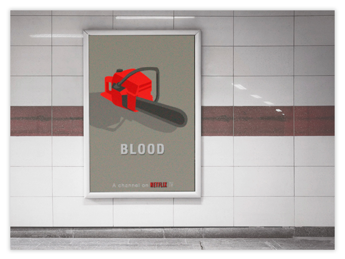netflix - ux, ui, advertising