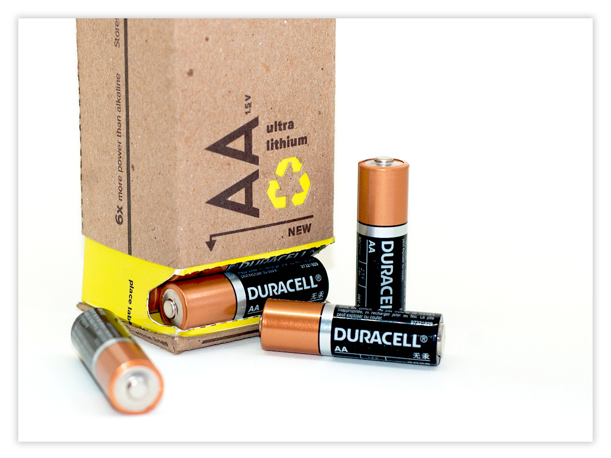 duracell - packaging