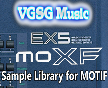 VGSG's EX5 Sounds for MOTIF