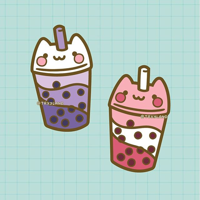 ✨Sweet Floof: Bubble Tea✨⁣ ⁣ Part 1/3 of a new pin collection, coming soon! ⁣ .⁣ .⁣ .⁣ #enamelpin #pingame #pingamestrong #pincollector #pincollection #catart #catlovers #bubbletea #bubbletealover #bobatea #kawaiiart #kawaiiartist #kawaiipins #cutepins #pinmaker #pinsofinstagram #pincommunity
