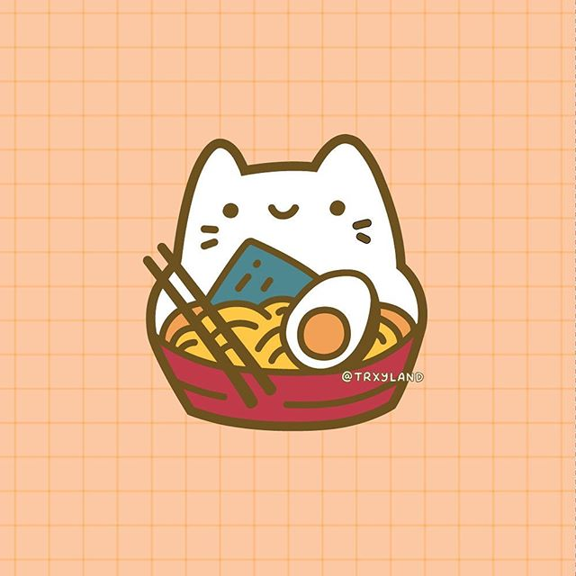 🍜Ra-meow-n🍜⁣ ⁣ Last pin in the upcoming collection! It's not part of the Sweet Floof series like the others, but I fell in love with this little guy and just had to make him into a pin! 🤣⁣ .⁣ .⁣ .⁣ #ramen #ramennoodles #cutepins #cutepin #kawaiipins #enamelpins #pincollector #trxyland