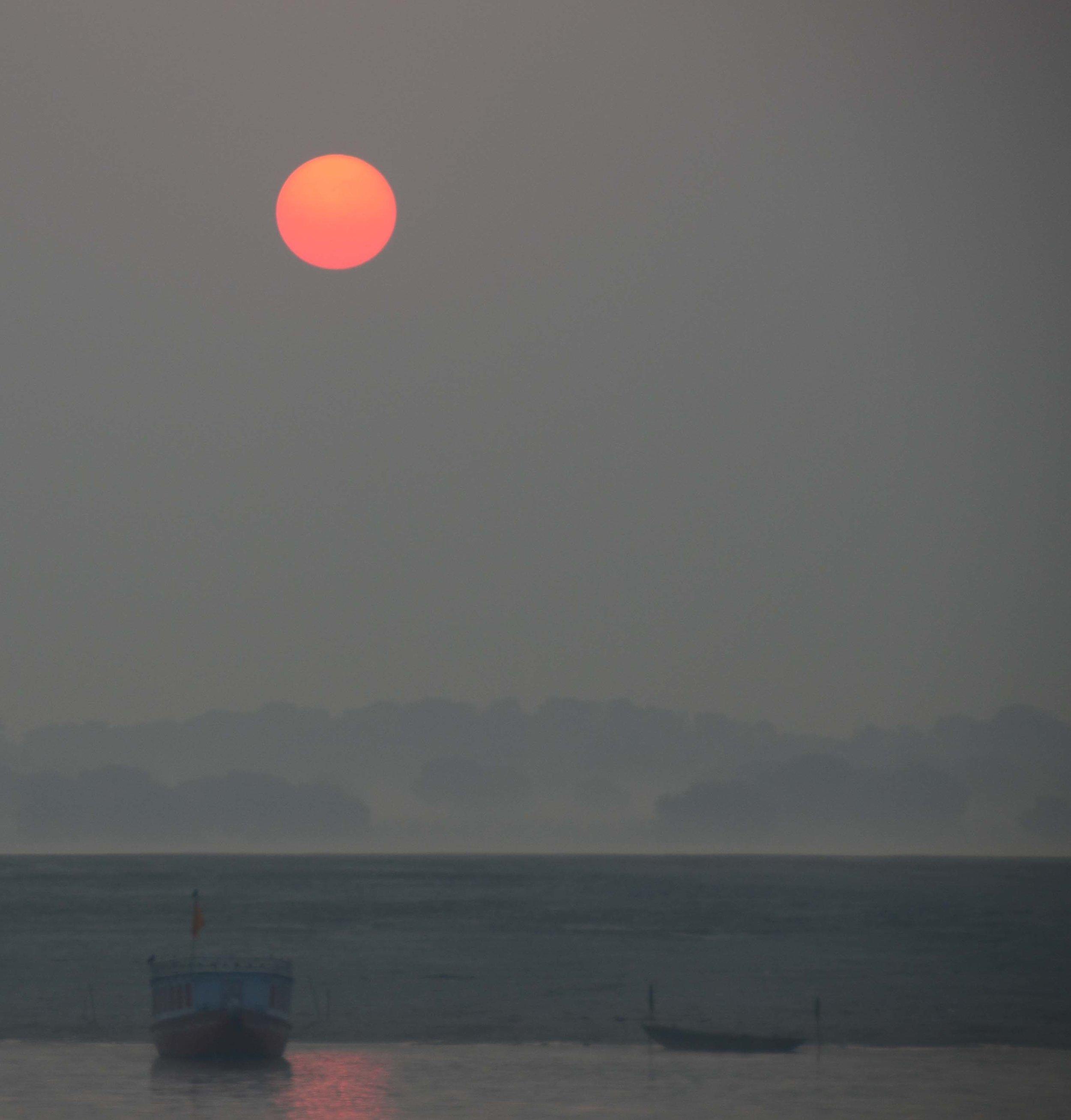 Sunset, Varanasi, India 2012
