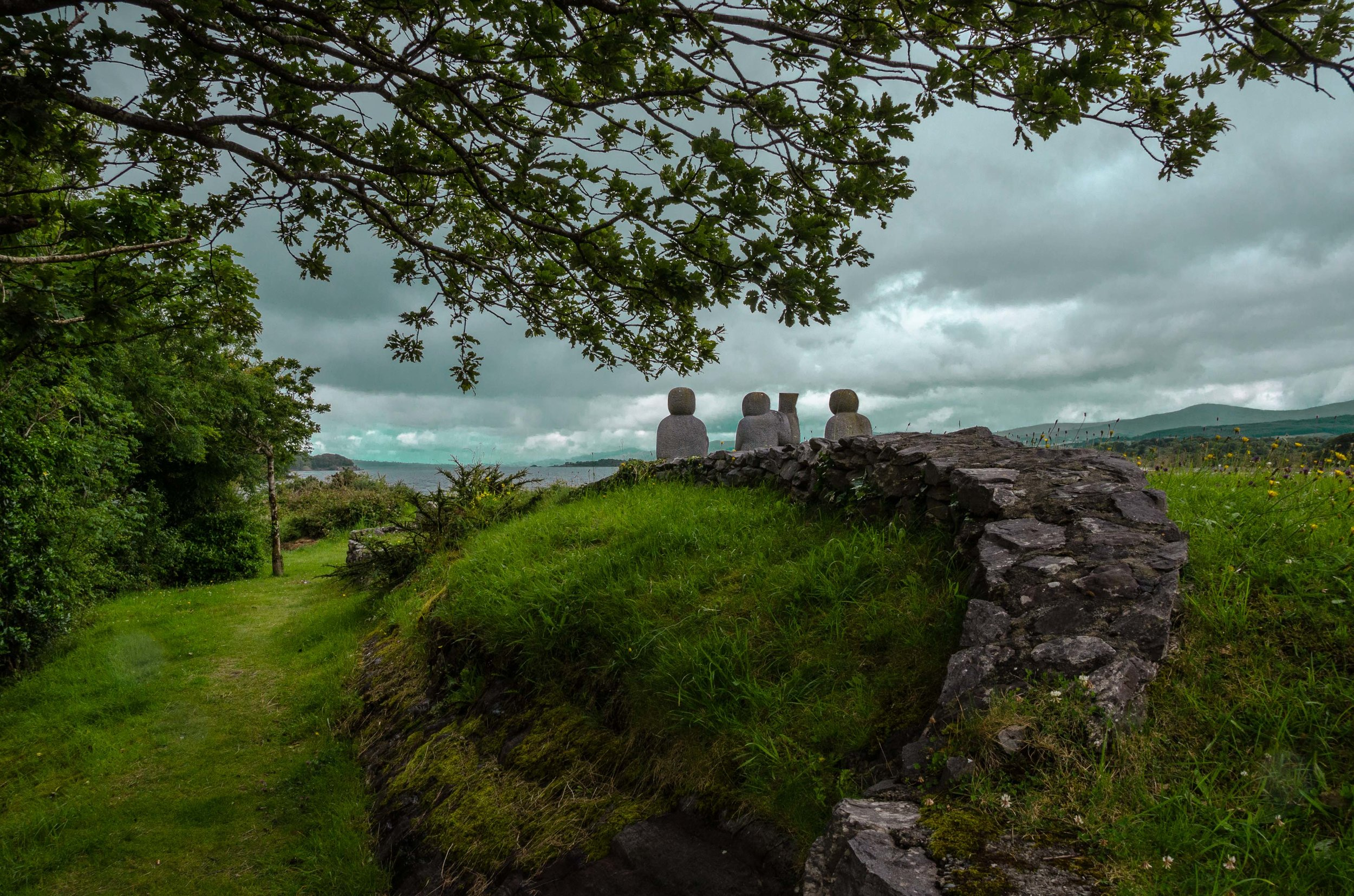 The Three Musicians. Kenmare, Ireland 2015