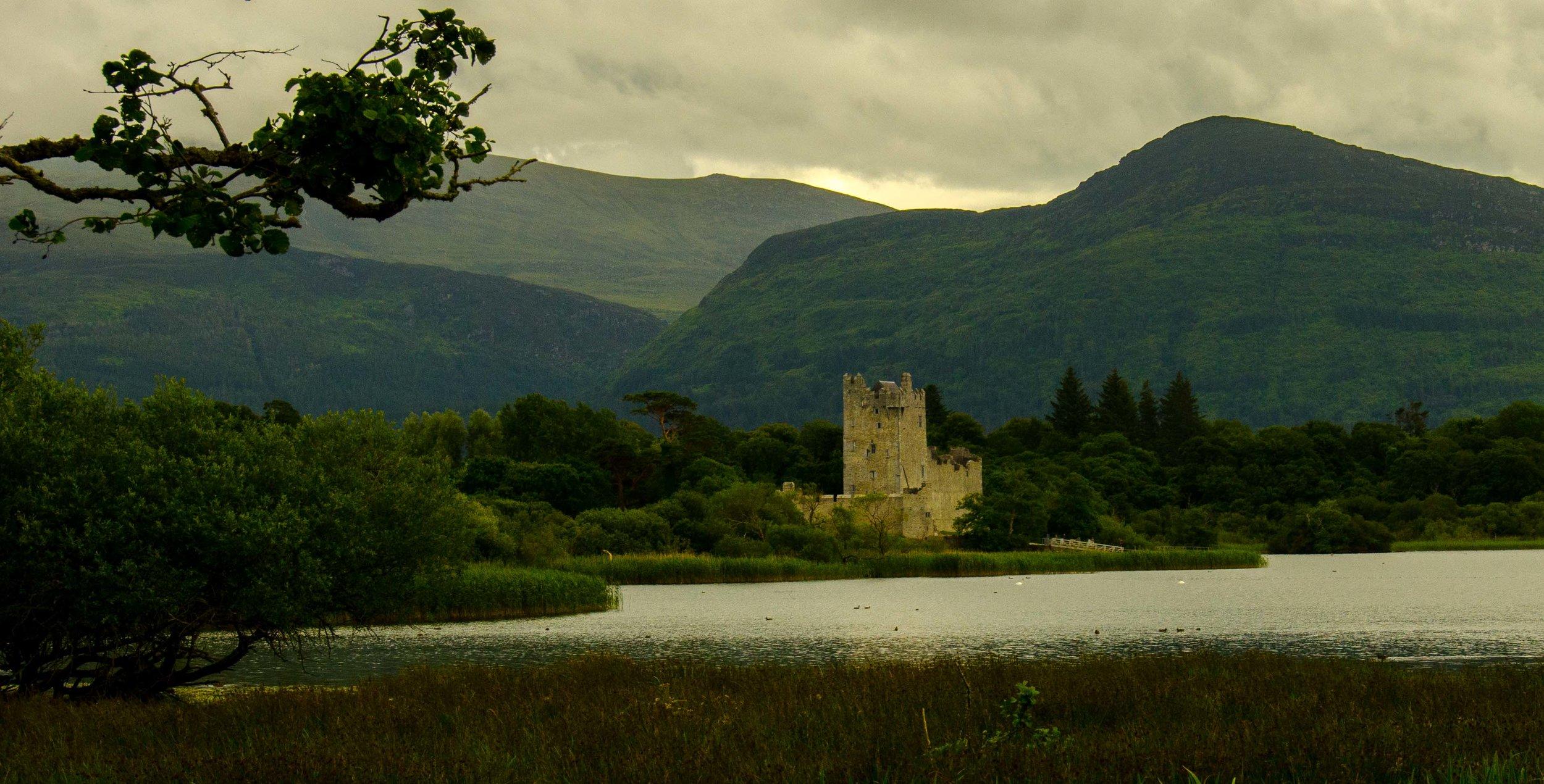 Ross Castle. Killarney, Ireland 2015