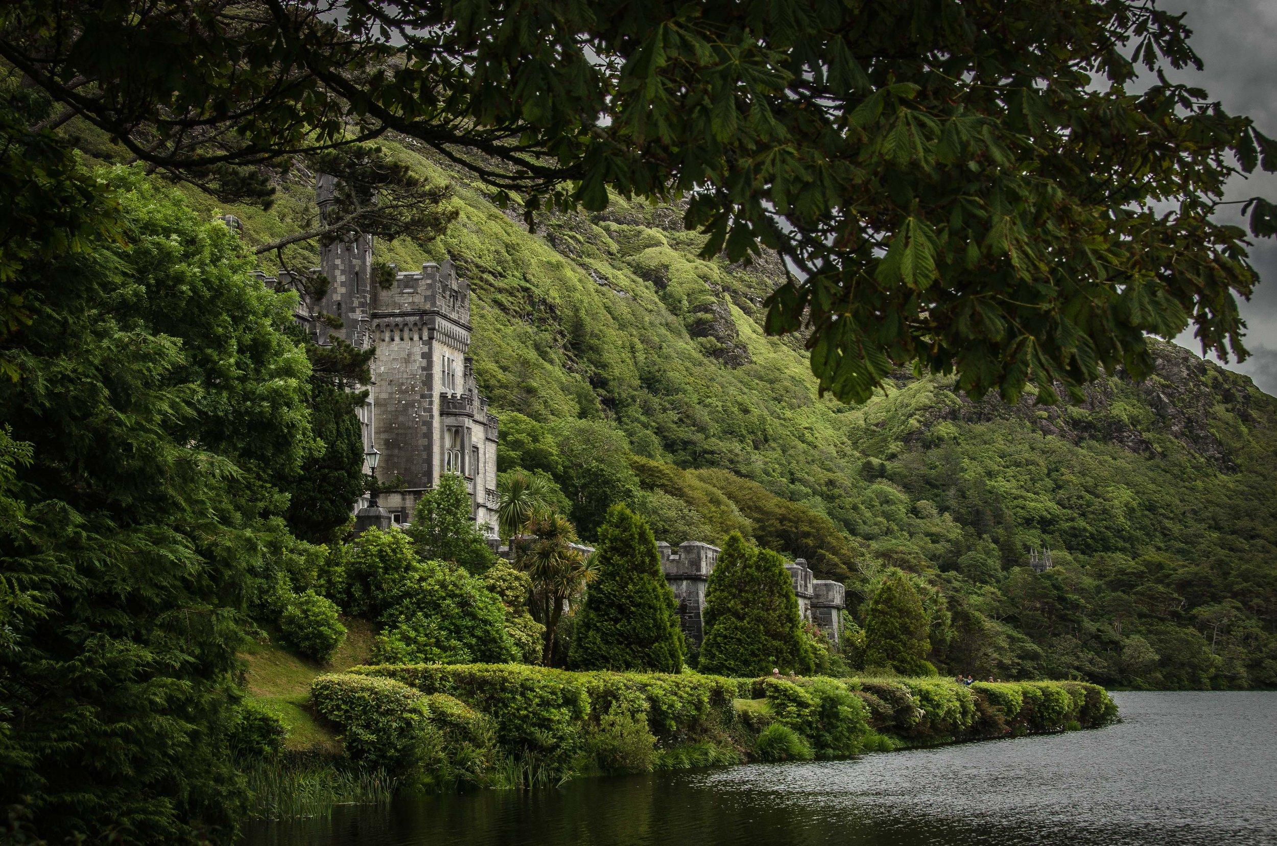 Kylemore Abbey. Connemara, Ireland,  2015