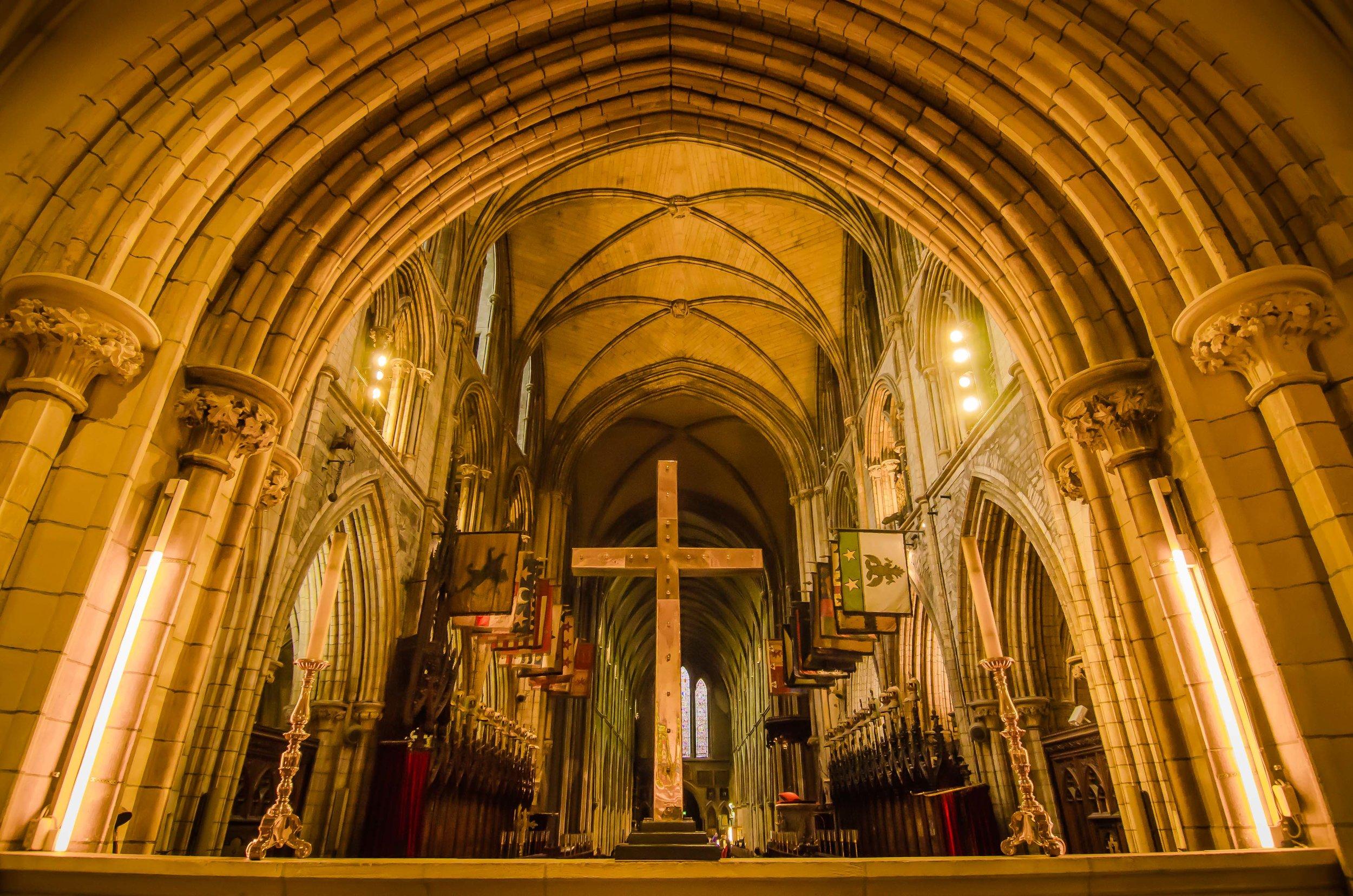 St. Patrick's Cathedral. Dublin, Ireland, 2015