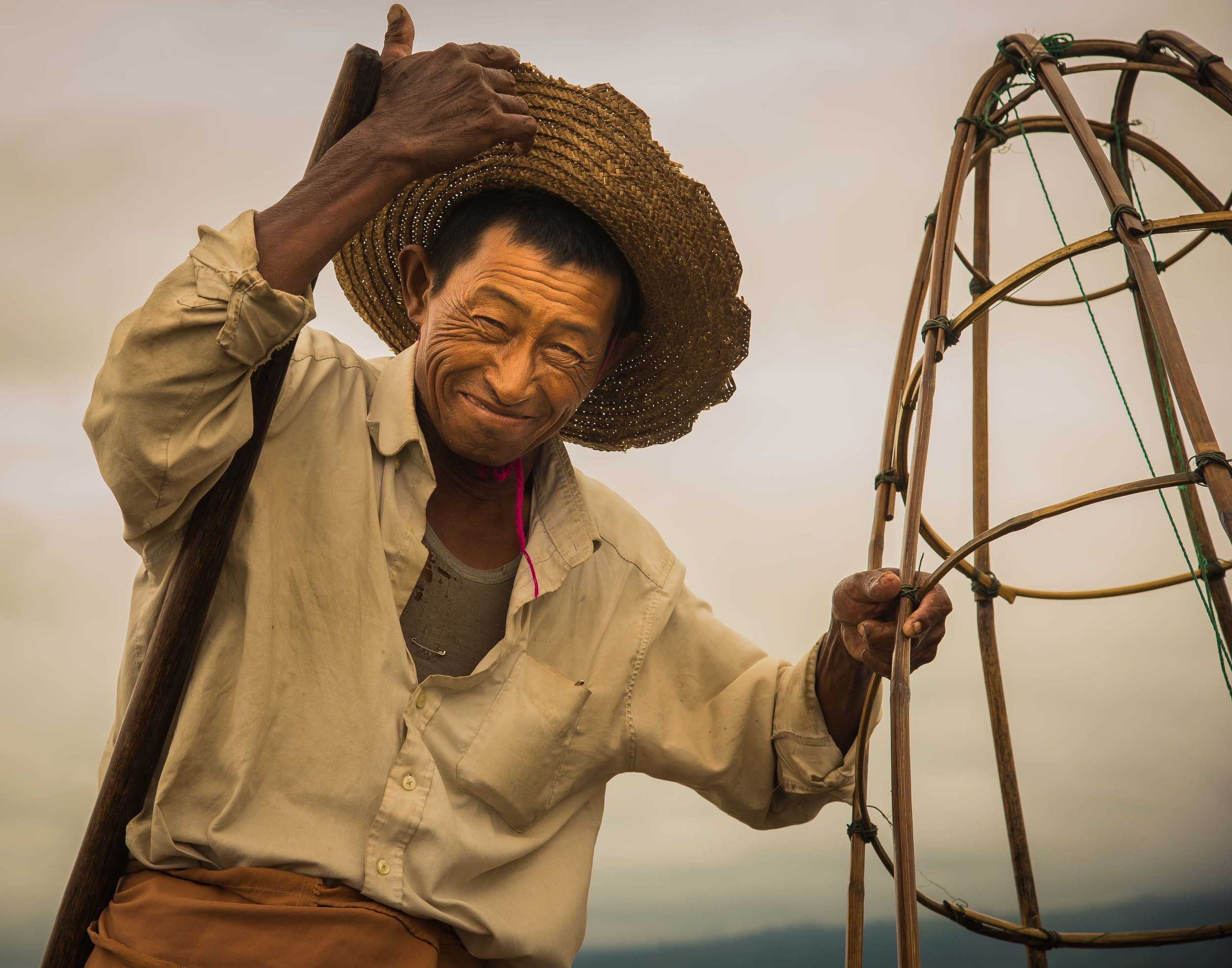 Fisherman, Inle Lake, Myanmar 2015