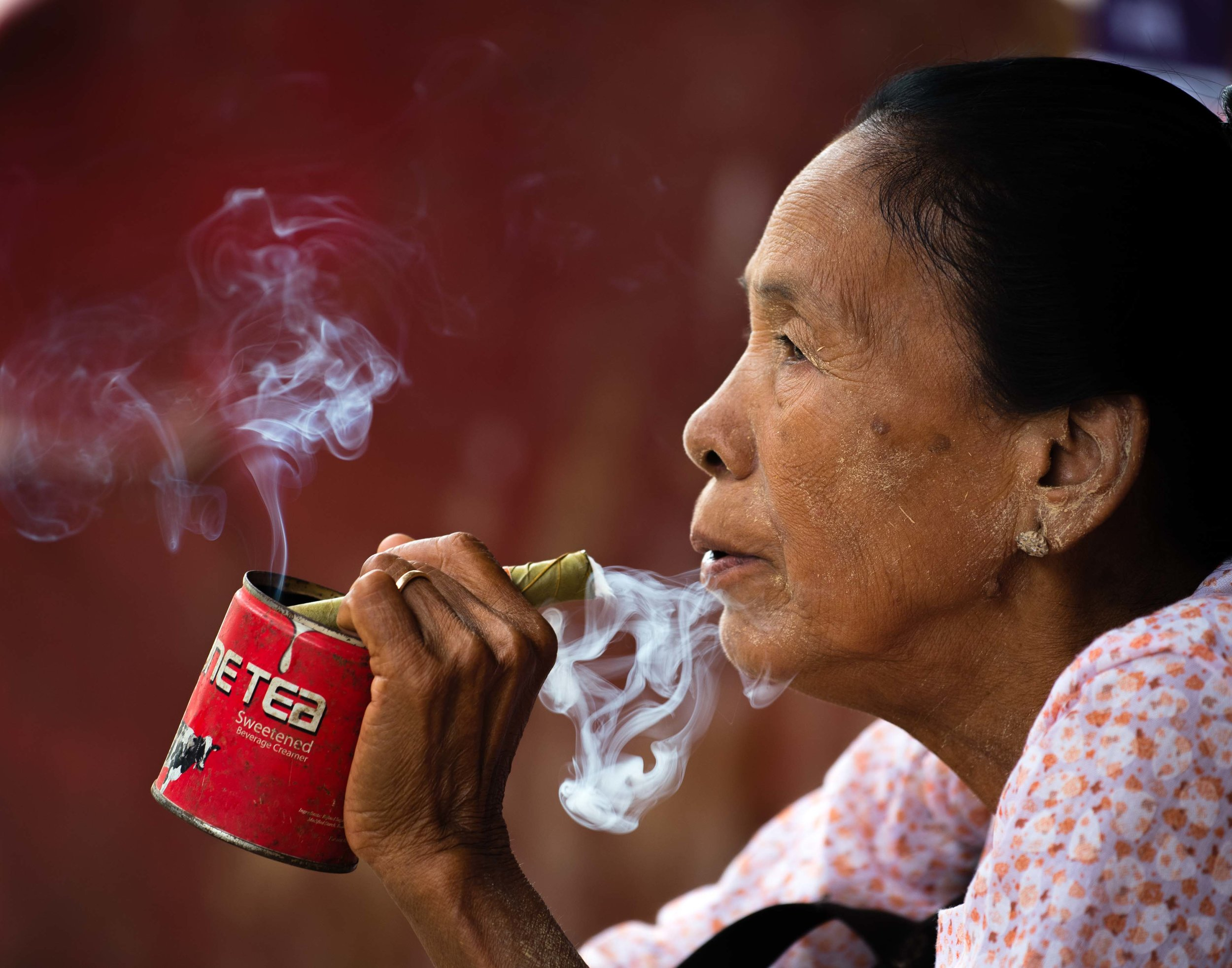 Cigar Break, Bagan, Myanmar 2015