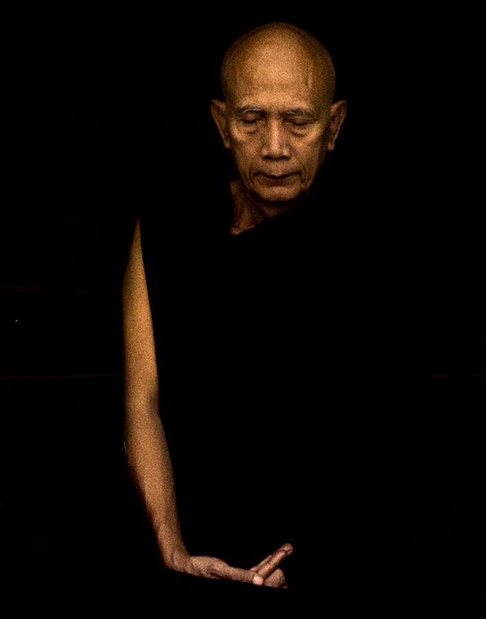 Meditation. Yangon, Myanmar 2015