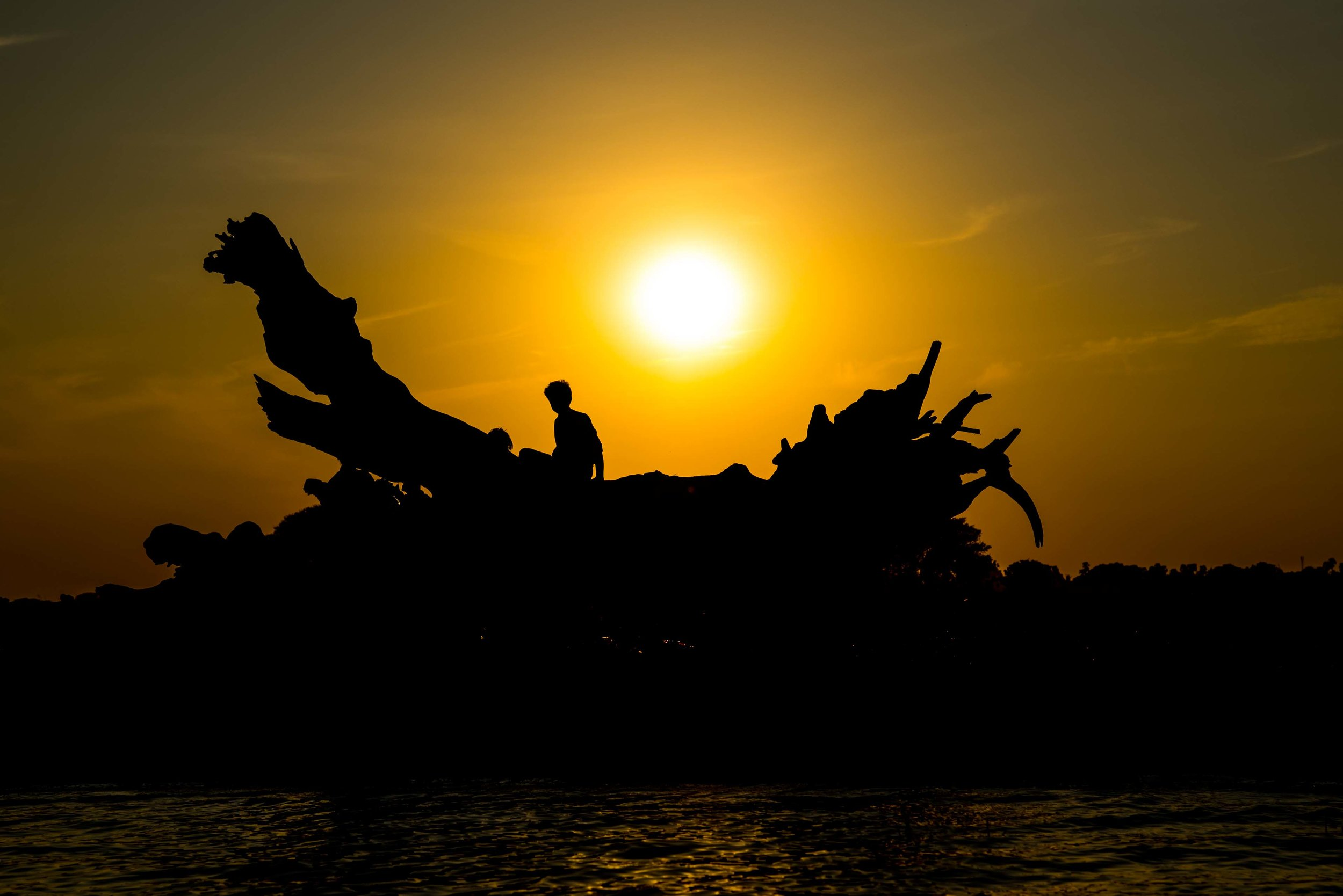 Sunset. Mandalay, Myanmar 2015
