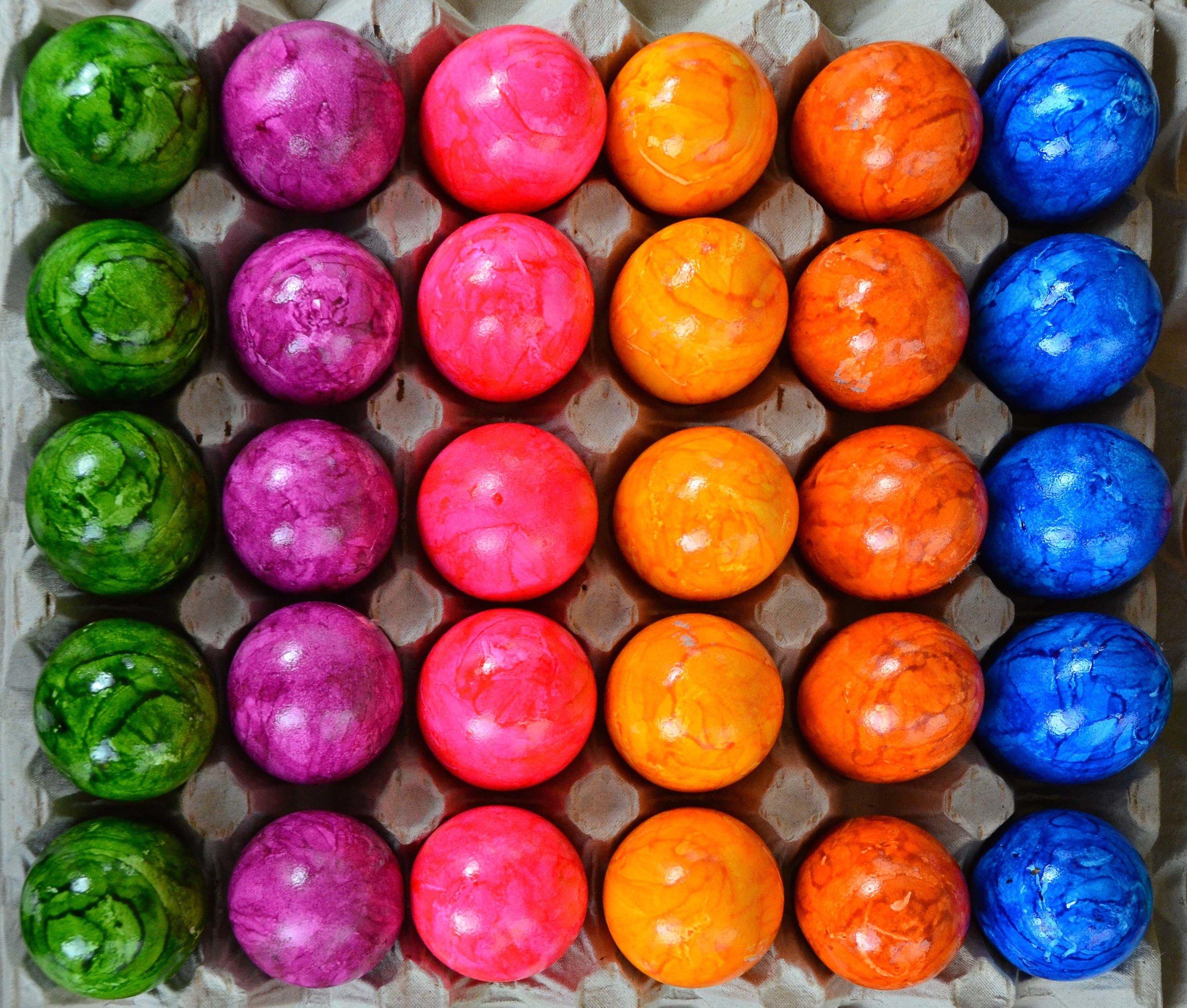 Marble Eggs. Berlin, Germany 2014