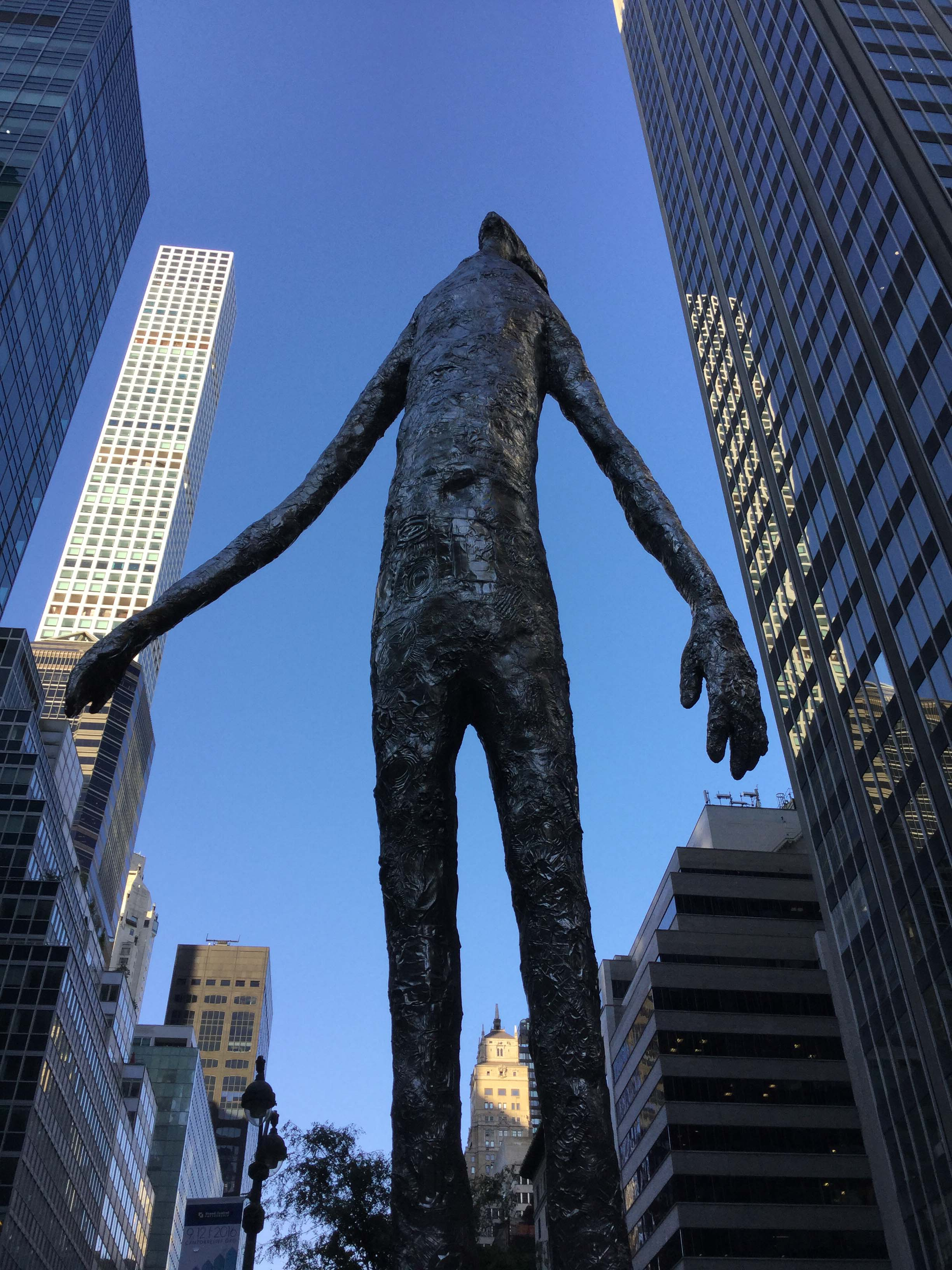 """Looking Up."" by Tom Friedman. Park Avenue. New York, NY 2016"