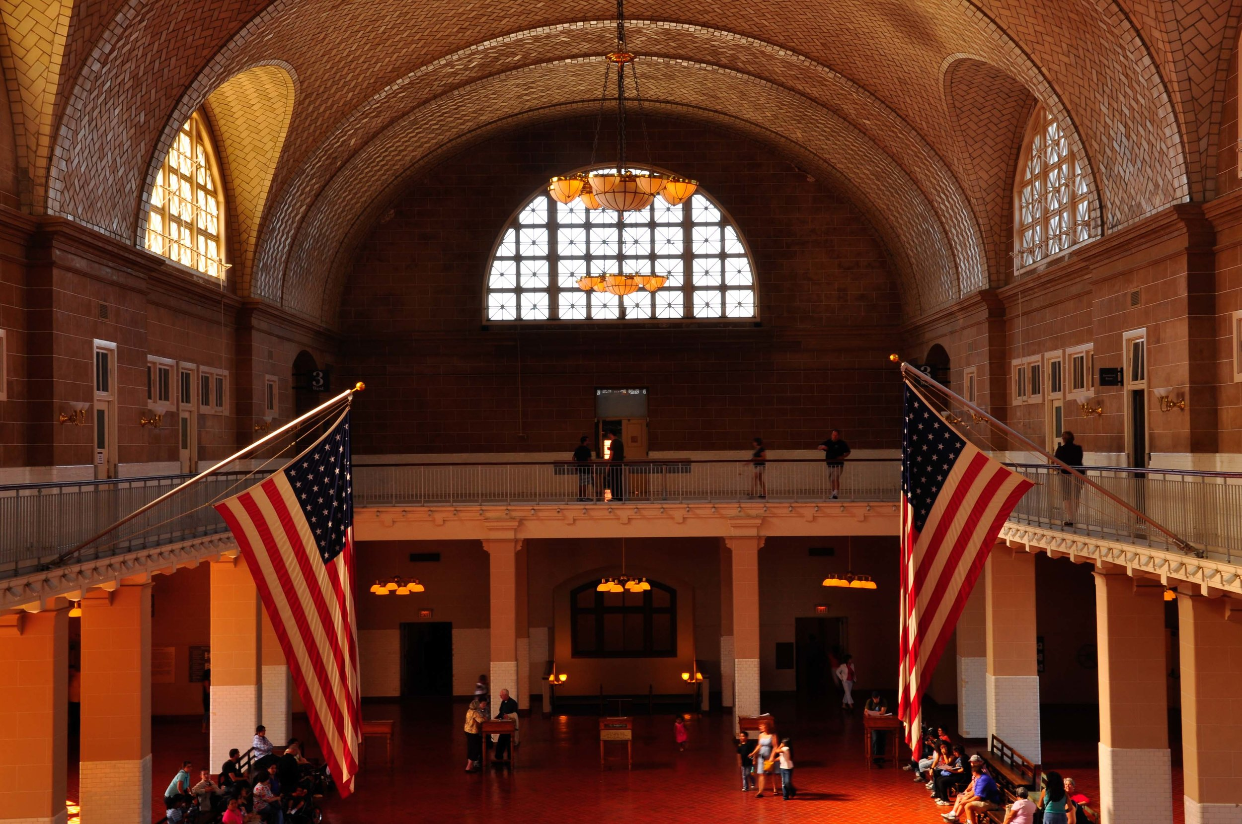 Main Hall - Ellis Island. New York, NY 2009