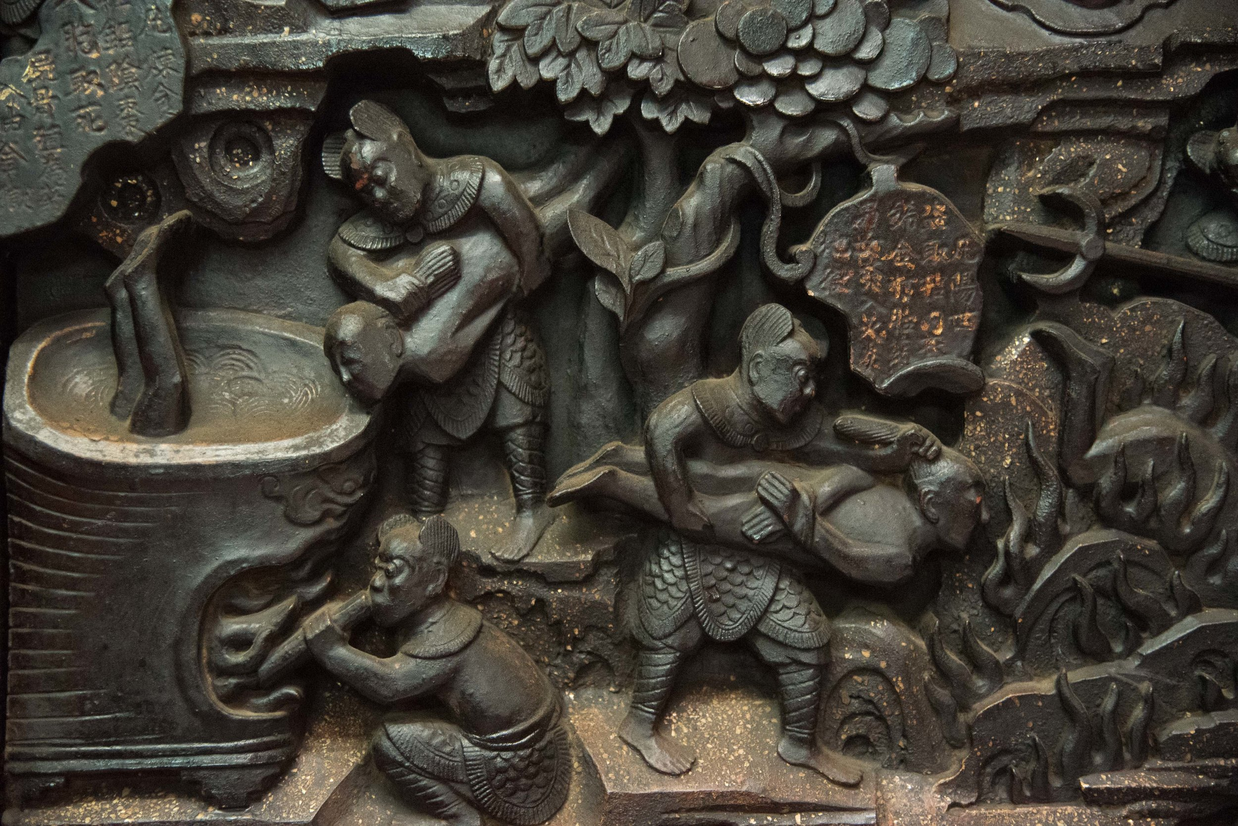 Carvings. Saigon, Vietnam 2015