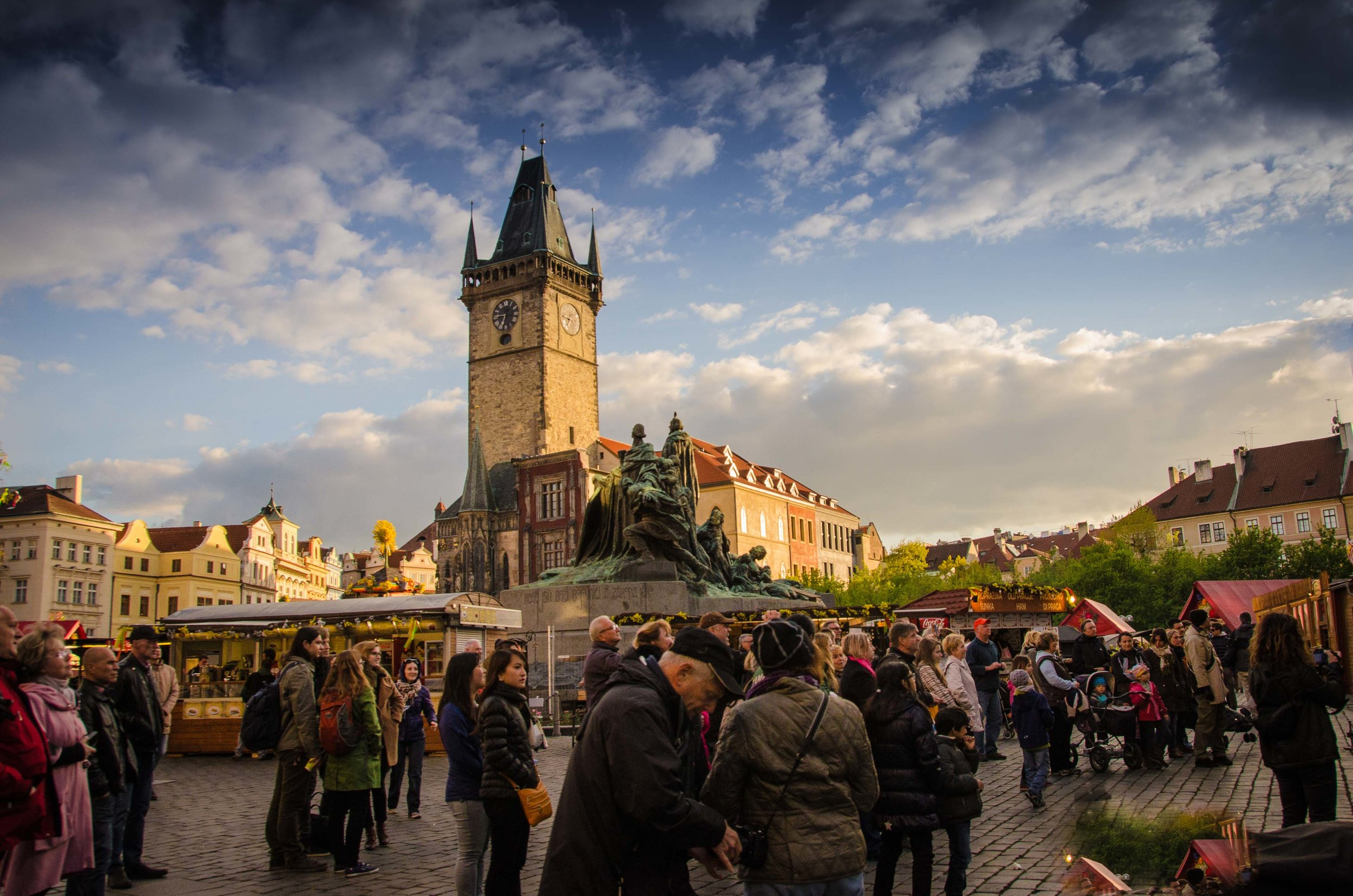 Old Town Square, Prague, Czech Republic 2014