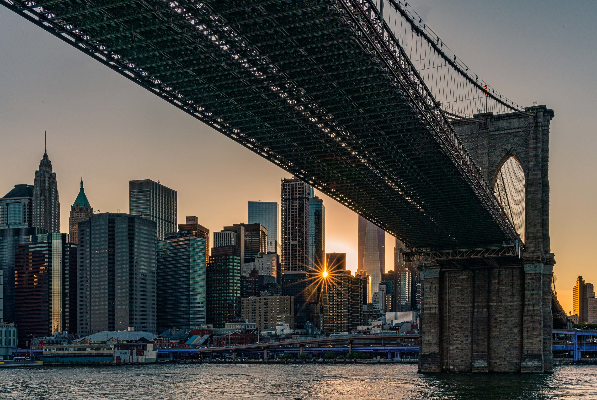 Brooklyn Bridge Sunset 2019