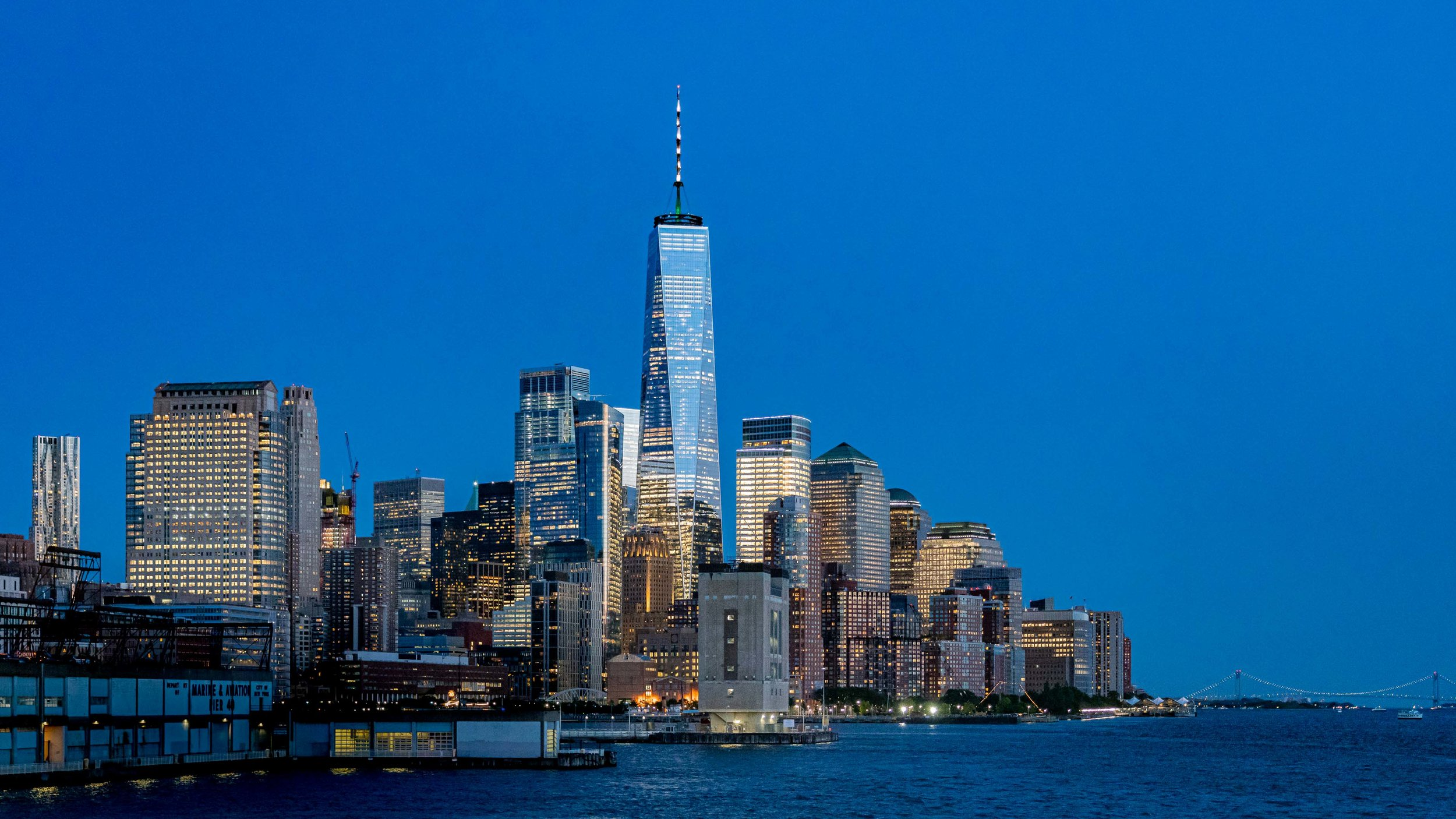 Freedom Tower Twilight 2019