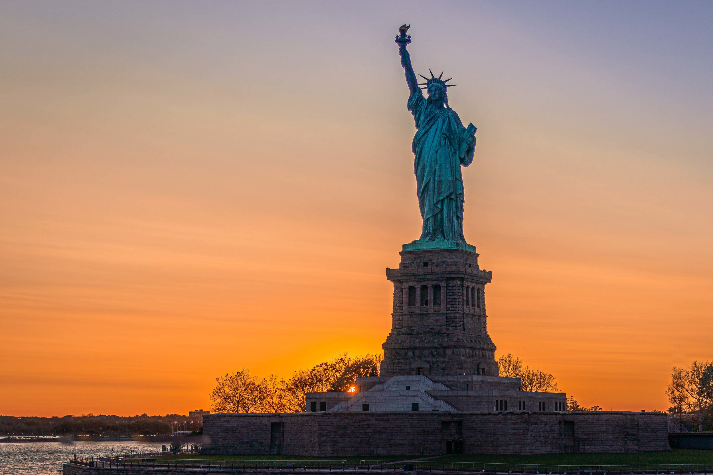 Lady Liberty Sunset 2019