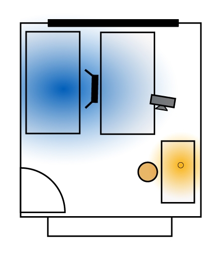 Bedroom Floorplan