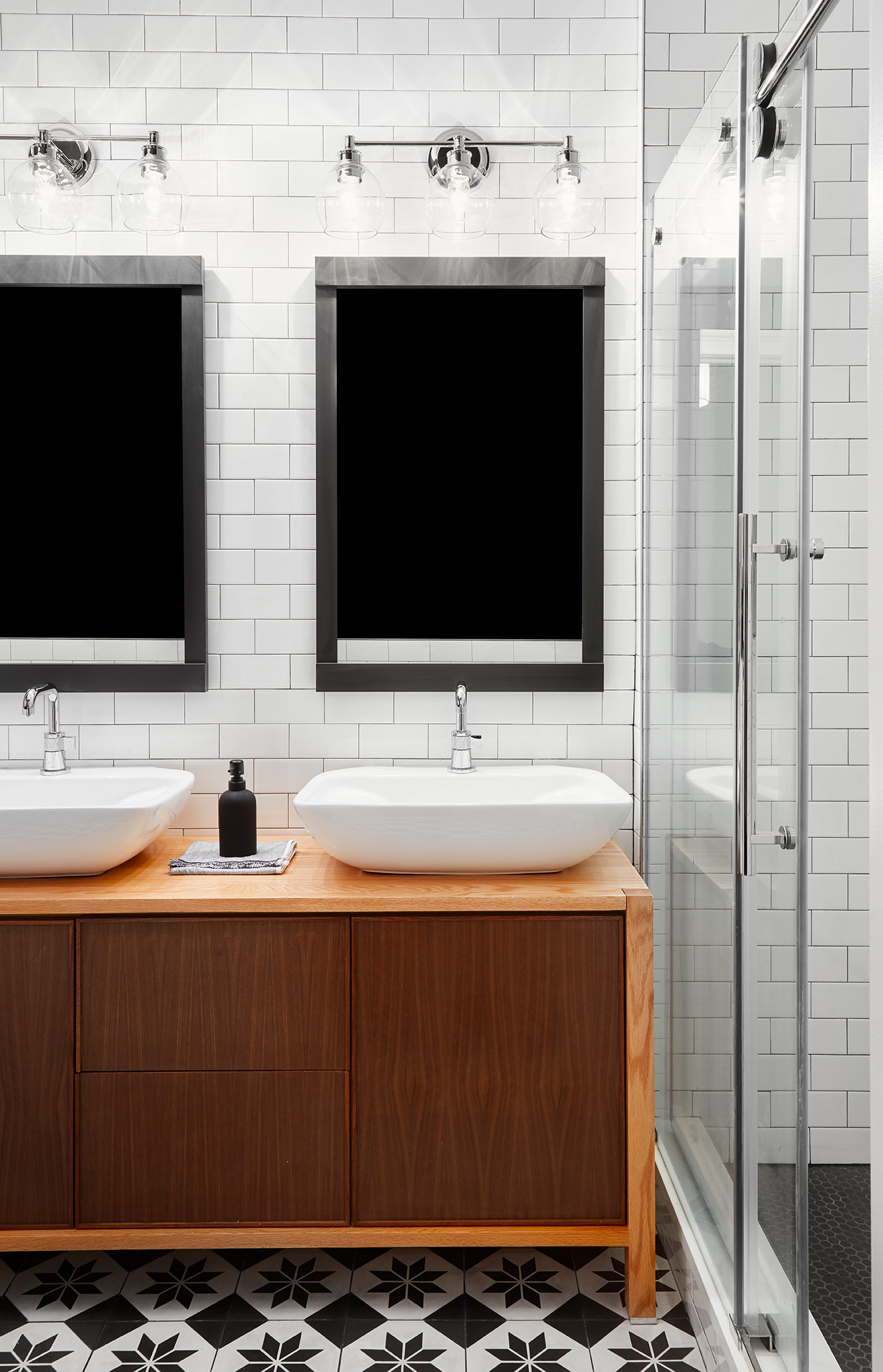 If you're planning to hire a contractor, it's safe to assume at least $25K for a bathroom renovation, and up from there depending on the size, level of finishes and fixtures you choose to incorporate.