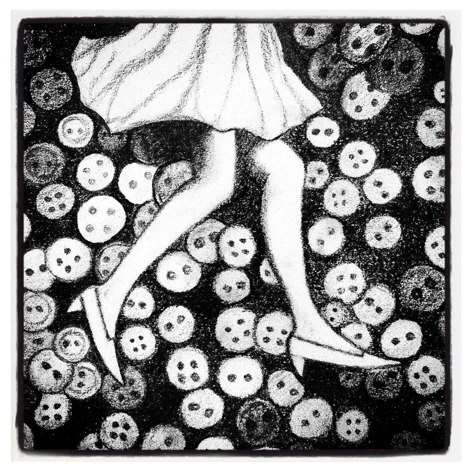 WALKING ON BUTTONS