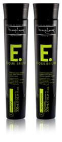 Linha Equlibrium para cabelos oleosos e com pontas secas  da Marie Louise