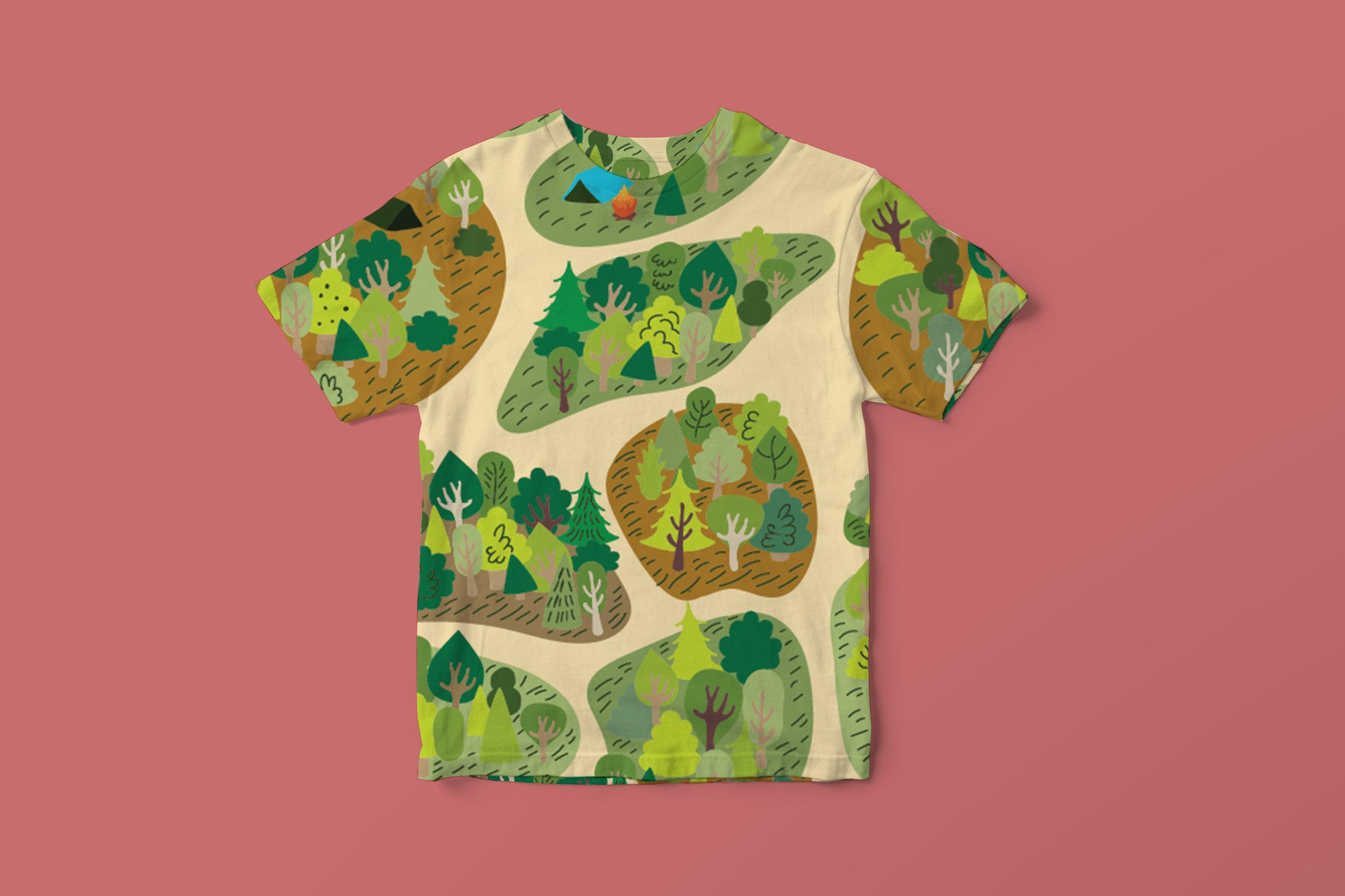 kid's t-shirt concept design