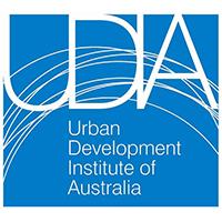 Urban Development Institute of Australia logo.