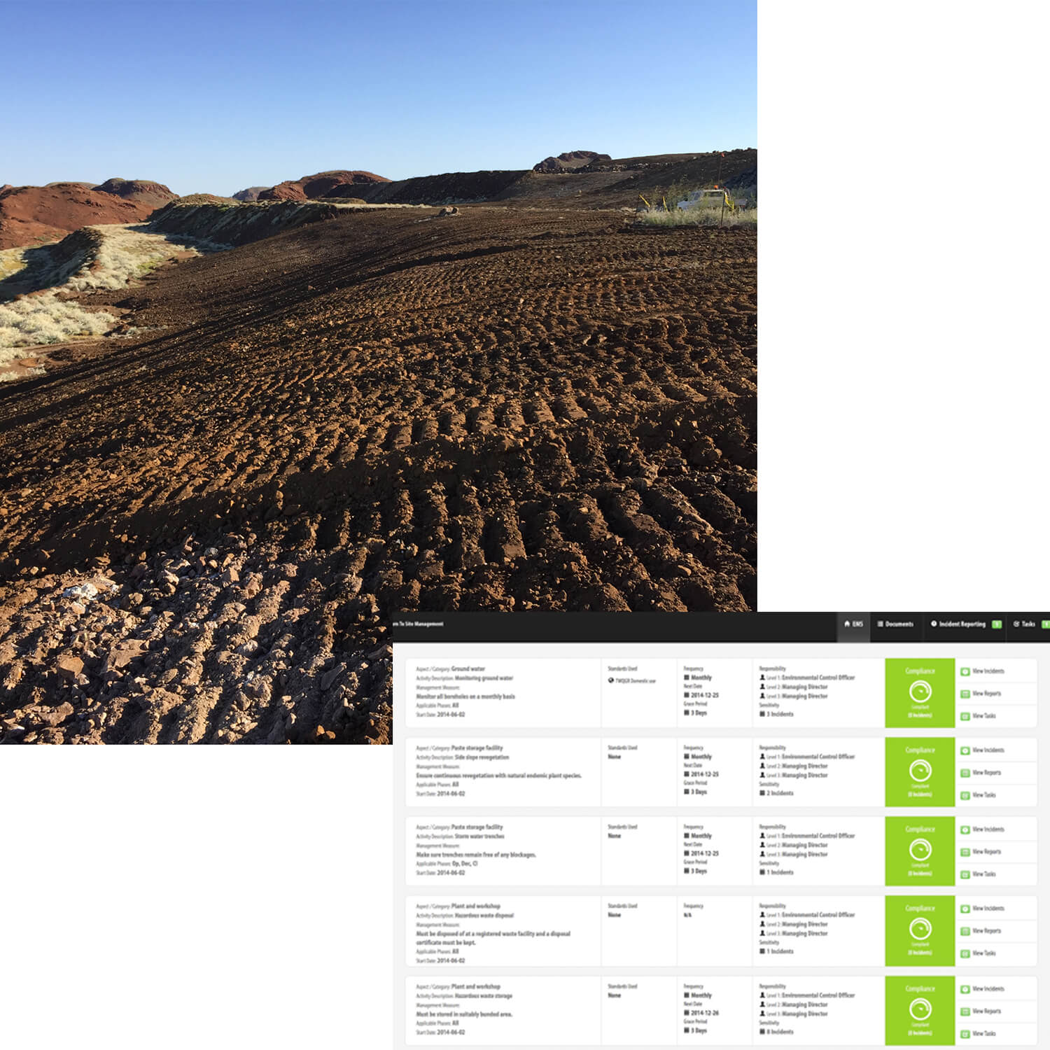 Mine closure services - Compliance reporting, management and improvement.