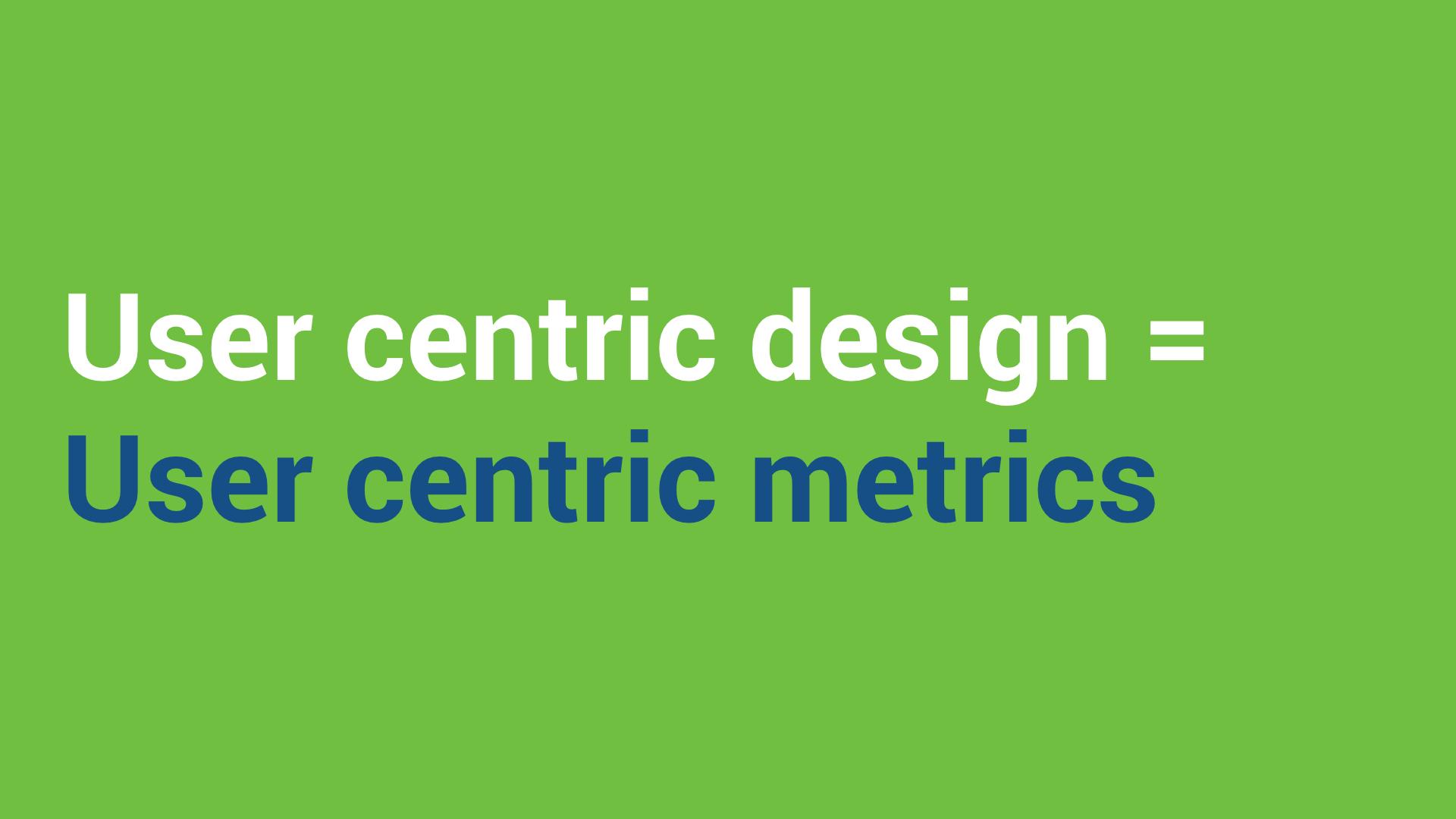 user-centric-metrics