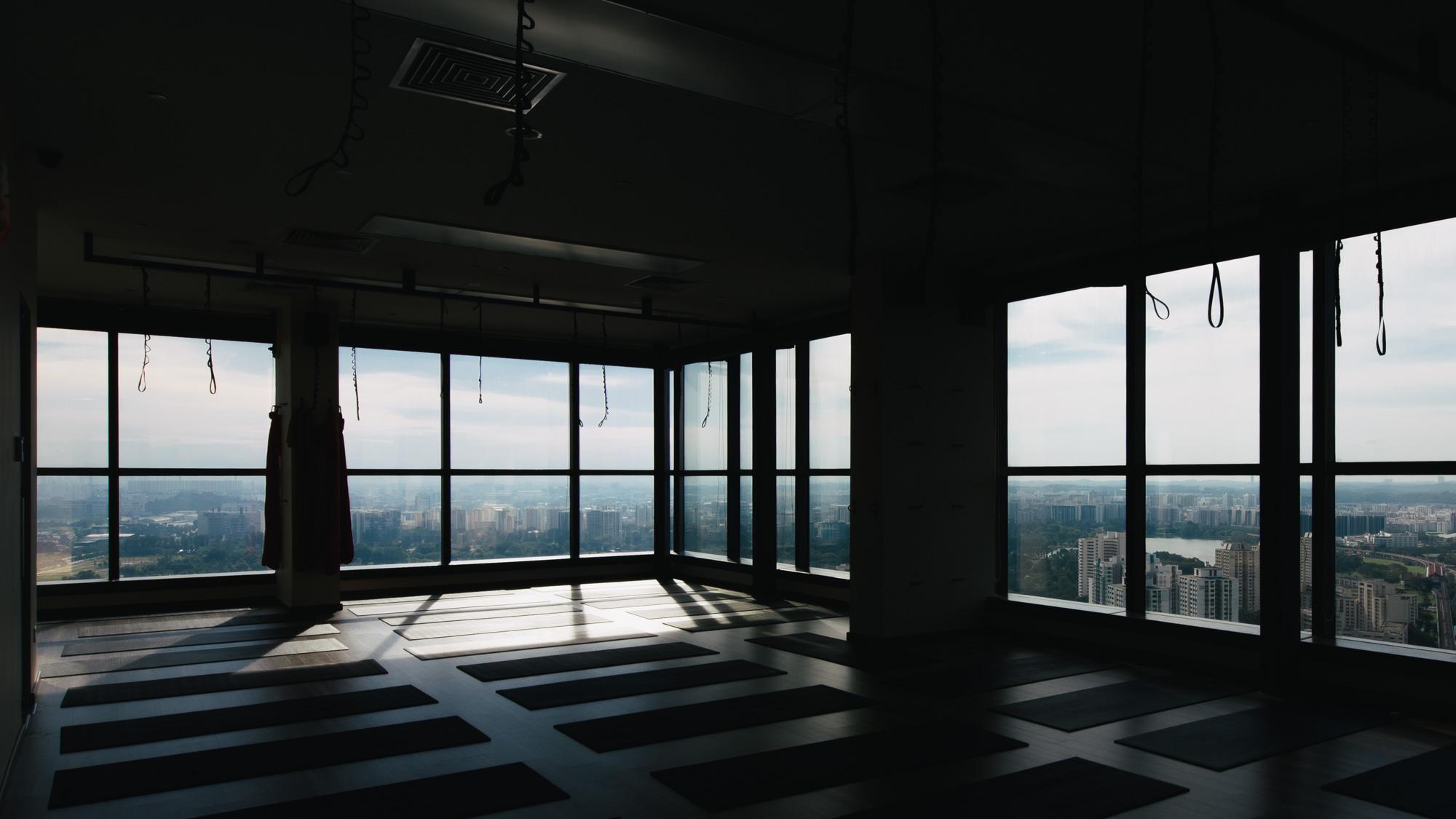 yoga studio interior photography westgate jurong rooftop platinum yoga singapore.JPG