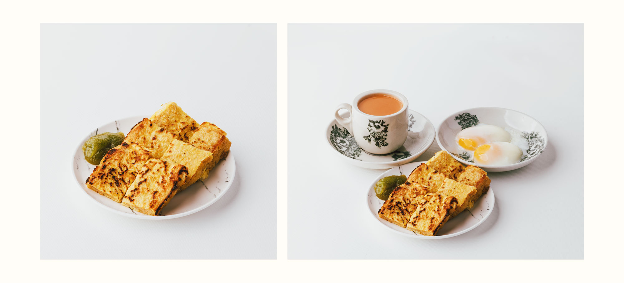 Food photography for Toast Hut - one of my favourite breakfast places