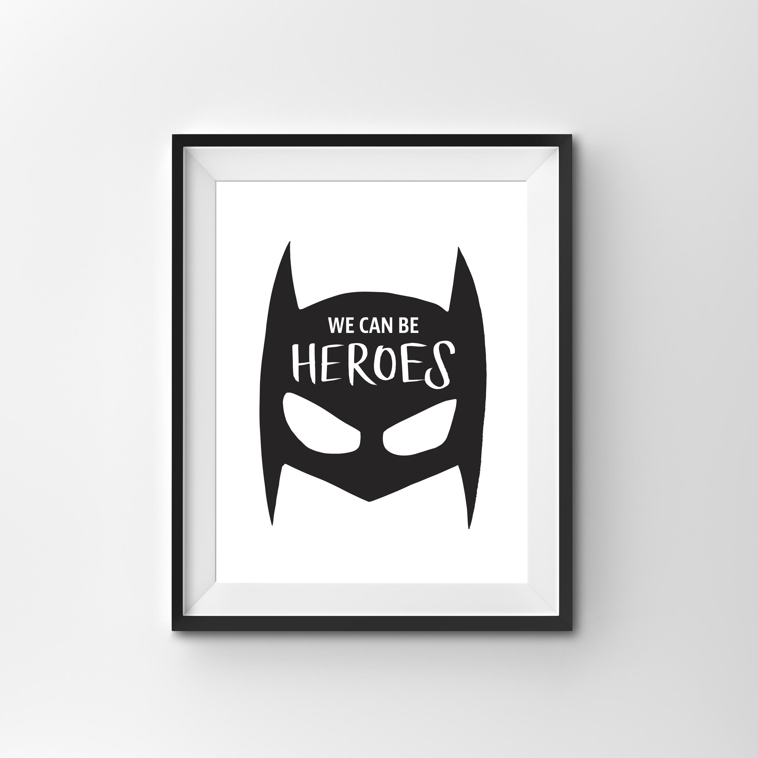 HEROES   BLACK & WHITE PRINT PRINTED ON 300gsm TEXTURED CARD STOCK   A4 $17.00   A3 $27.00