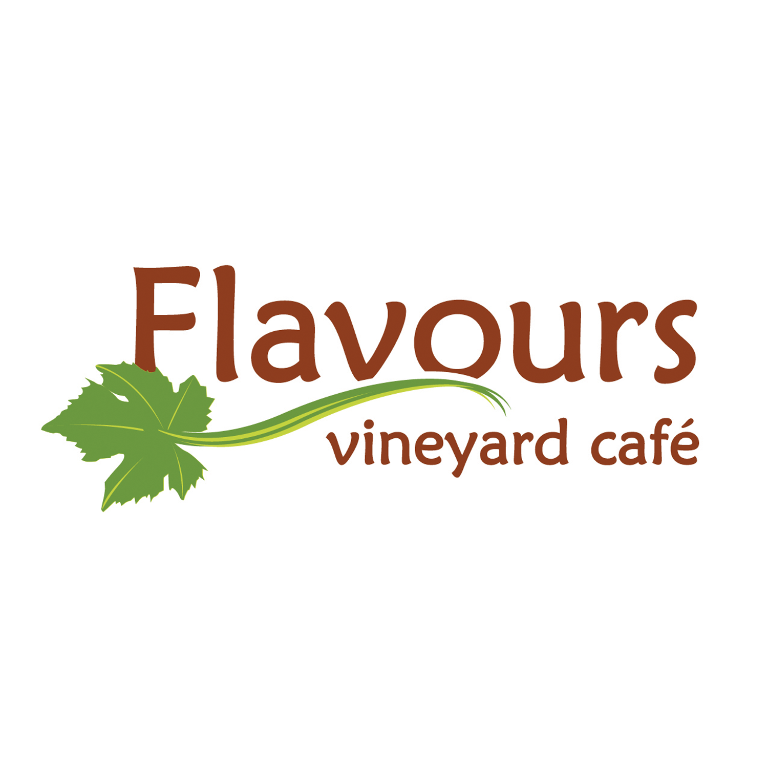 LOGO DESIGN FOR FLAVOURS VINEYARD CAFE