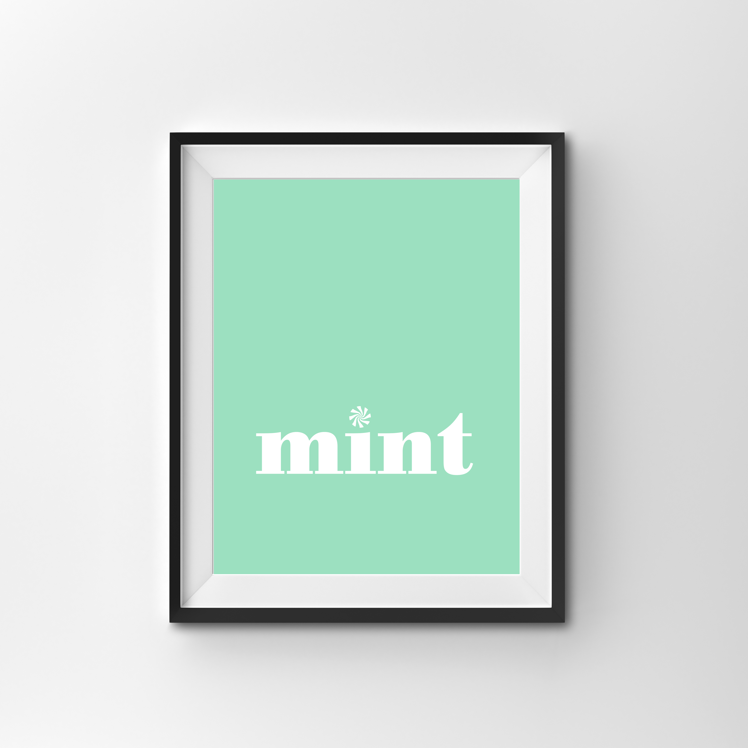 MINT   COLOUR PRINT PRINTED ON 300gsm TEXTURED CARD STOCK A4 $17.00   A3 $27.00