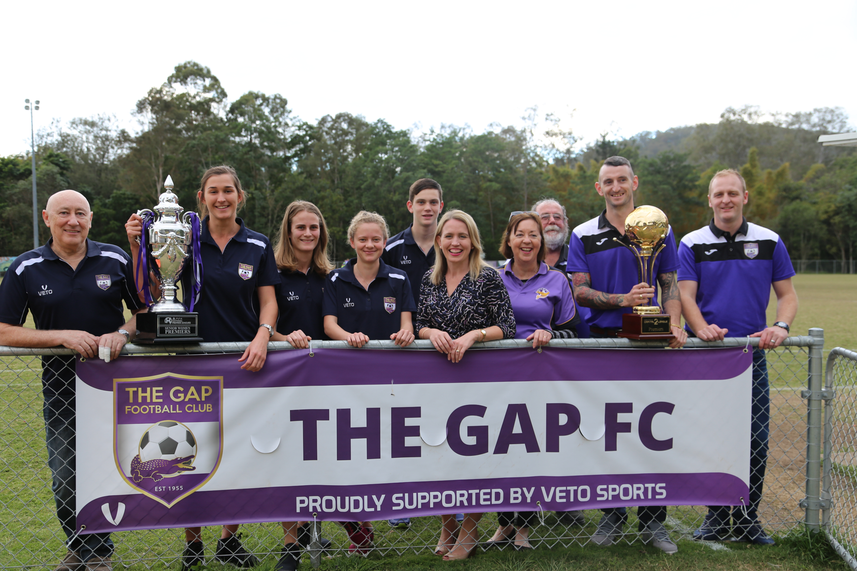 Major Upgrade at The Gap Football Club -