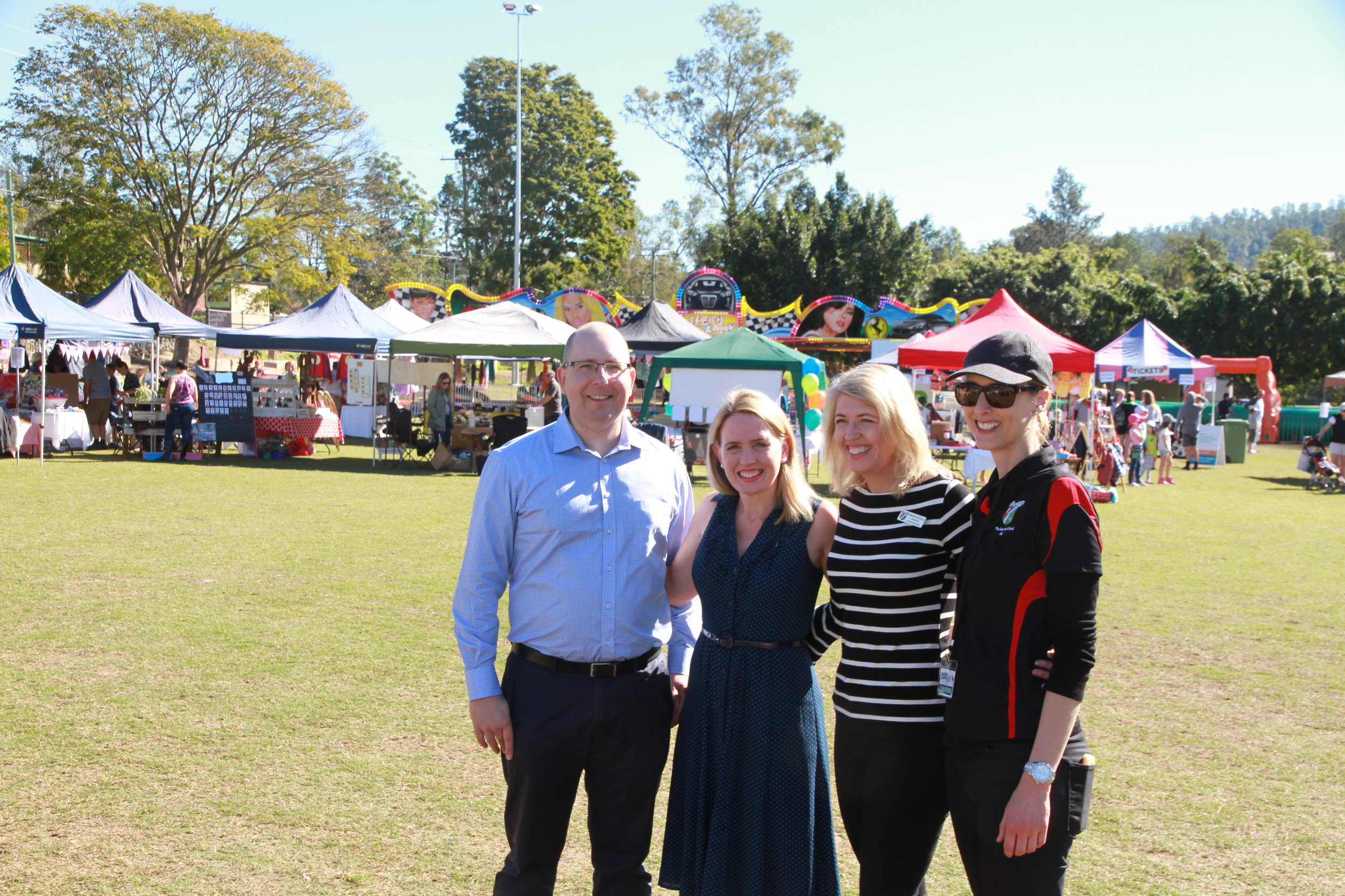 Upgrade to the Gap State School's Oval -