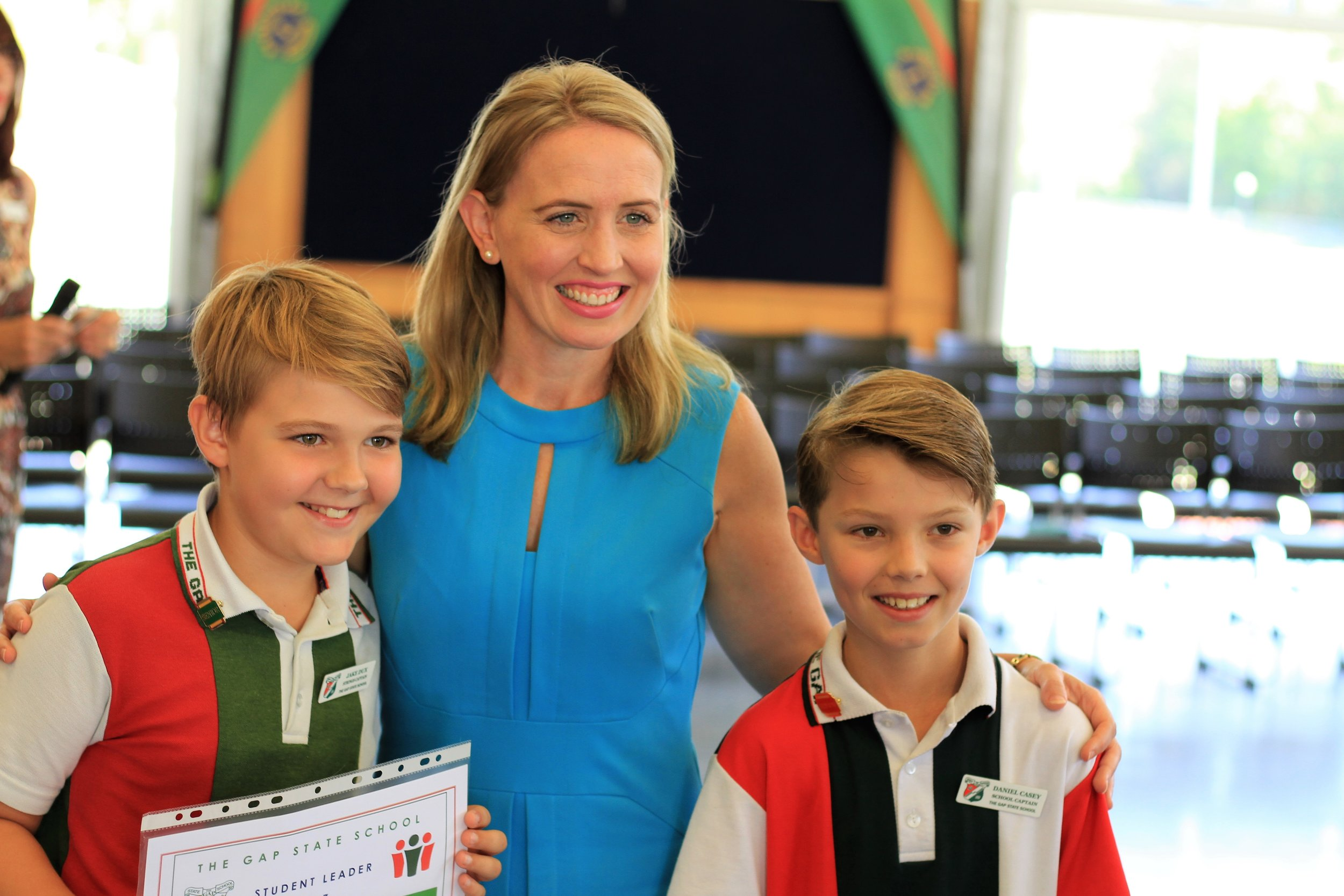Bigger Hall for the Gap State School -