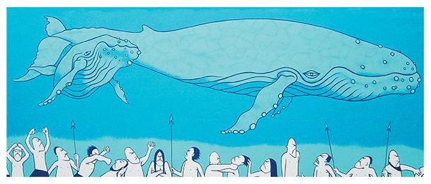 whale mural web