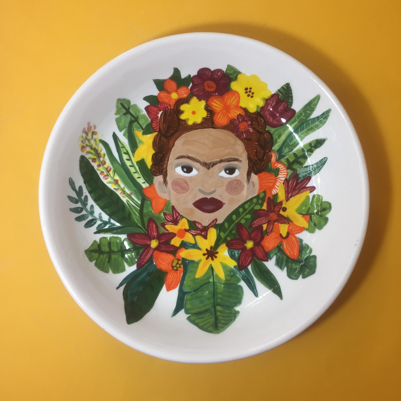 Floral Frida  £45.00  28 x 5cm