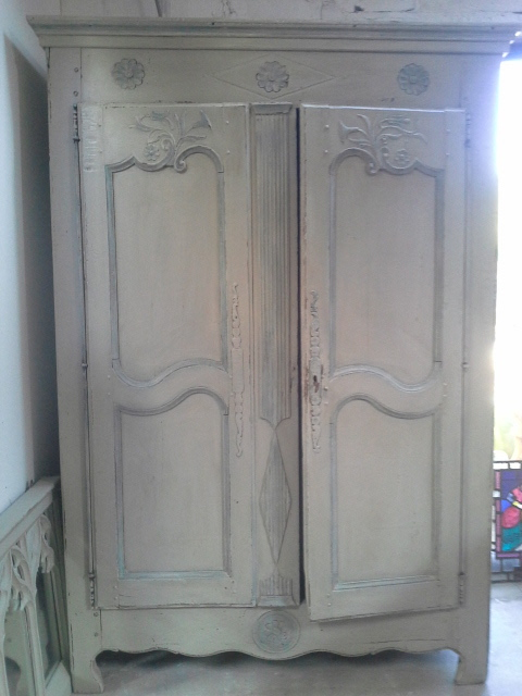 French 18th century armoire. £895 SOLD