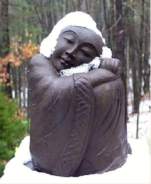 Buddha in snow.JPG