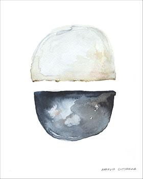 Aurelio Costarella  'Heaven and Earth'  ACO-5: 50 x 68 cm, black frame -  UNAVAILABLE   ACO-2: 62 x 86 cm, black frame -  AVAILABLE