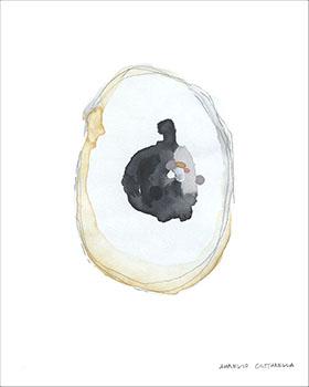 Aurelio Costarella  'Embryo I'  ACO-1: 62 x 86 cm, black frame -  AVAILABLE   ACO-4: 73 x 97 cm, under glass black frame -  AVAILABLE