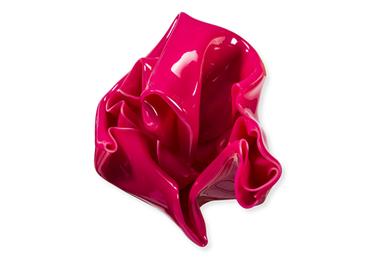 Small Pink Wall Crunch   Wall mounted, heat moulded polymethyl  methacrylate  H25 x W27 x D17 cm  $900 AUD  Location: Armadale