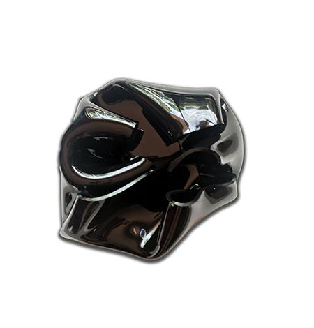 Black Flame   Heat moulded polymethyl methacrylate  H33 x W29 x D13cm  $1,000 AUD  Location: Cheltenham